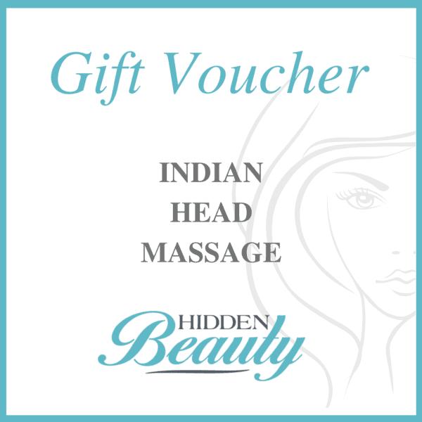 Indian Head Massage - Hidden Beauty Bourne
